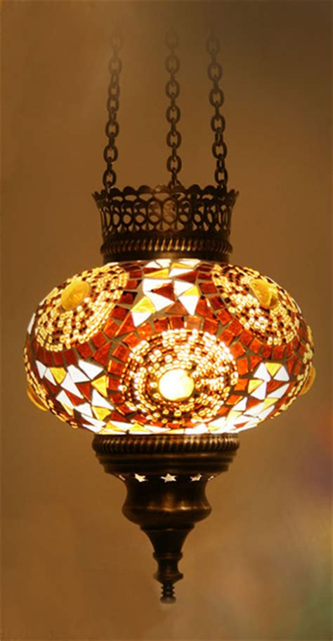 Turkish Pendant Lights Turkish Style Mosaic Pendant L 14cm Mediterranean Pendant Lighting Other By Hedef