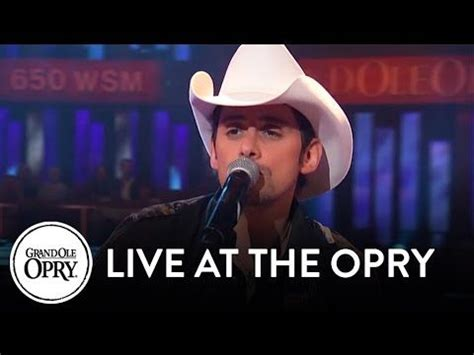 living comfortable ole e mp3 brad paisley quot she s everything quot live at the grand ole