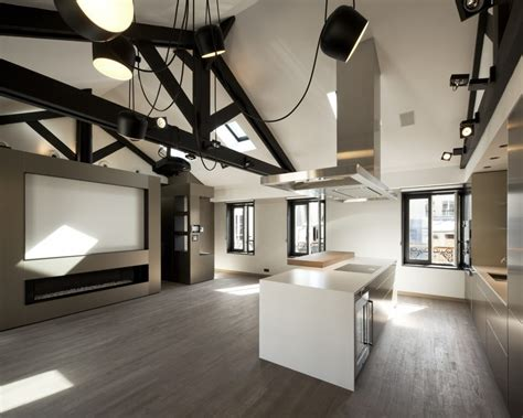 Living Room Layout Ideas luxury attic apartment in paris as example of amazing