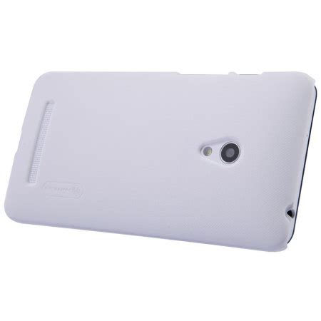 Backdoor Asus Zenfone 5 White nillkin frosted shield asus zenfone 5 white