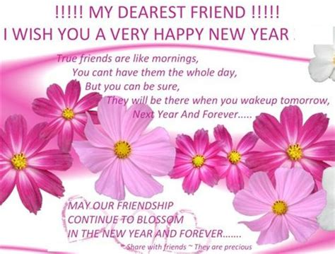 new year wishes messages for friends and family for new
