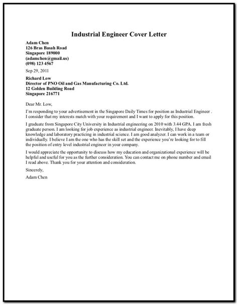 cover letter petroleum company cover letter for company showroom assistant cover letter