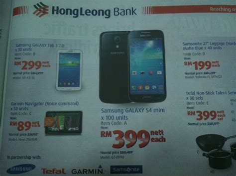 mobile samsung galaxy s4 price malaysian bank may leaked local retail prices for the