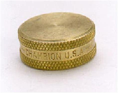 arrowhead brass champion hc brass hose  cap