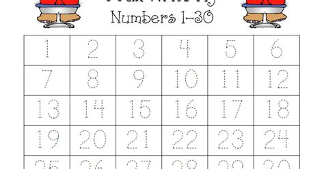printable numbers up to 30 all worksheets 187 number worksheets 1 30 printable