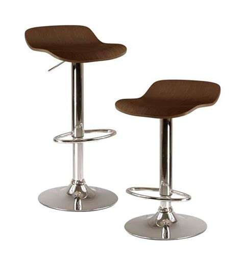 Set Of Stools by Adjustable Bar Stools Cappuccino Set Of 2 In Modern Bar Stools
