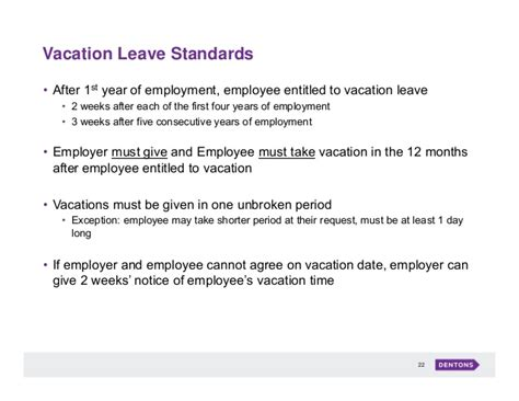 certification letter for vacation leave employment labour