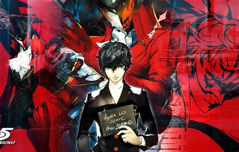 Persona 5 Shin Megami Tensei Iphone Semua Hp wallpaper shin megami tensei plate person 5