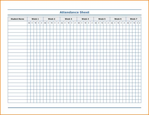 attendee list template doc 537697 free yearly schedule of events template