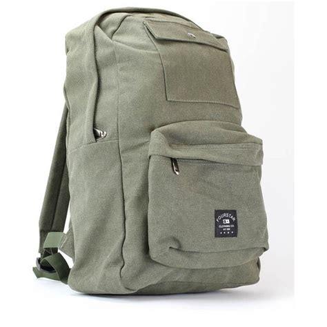 Backpack Label fourstar label backpack green sportitude