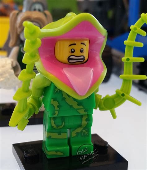 Legominifigures Series 14 Plant new argos catalog is out today mention of series 14 monsters sets minifigure