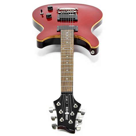 black cf 50f electric guitar cherry at gear4music