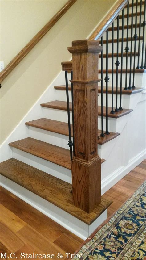 staircase remodel  mc staircase trim removal