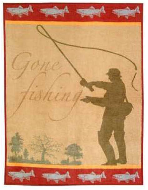 fishing themed l shades fishing blanket throw