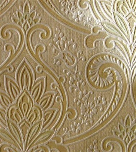 wallpaper gold embossed embossed wallpapers wallpaper wallcovering