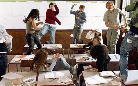 bad kids the naughtiest unruly behaviour in schools caused by boring lessons telegraph