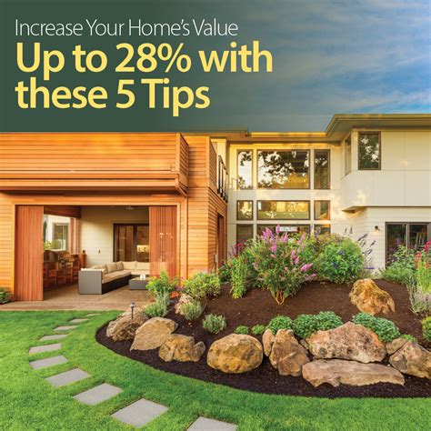 increase the value of your home up to 28 bowes
