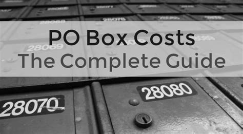 Po Box Lookup Po Box Cost Read This Before Renting