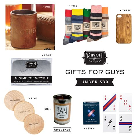 gift guide gifts for guys pinch provisions blog