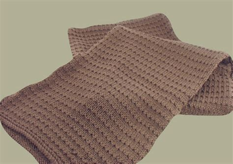 mens knitting patterns free free knitting pattern justin scarf handsome scarf for