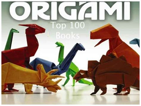 Best Origami Book - the top 100 origami books of all time book scrollingbook