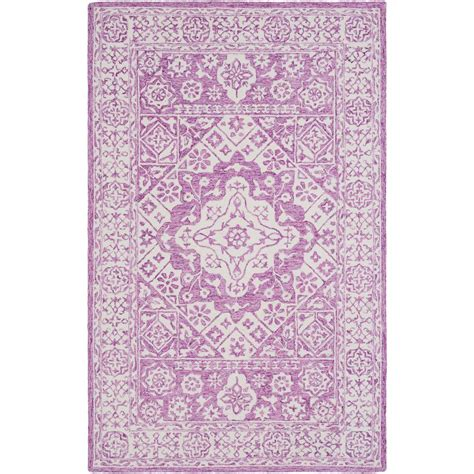 bright purple rug artistic weavers alexina bright purple 9 ft x 13 ft area rug s00151067474 the home depot