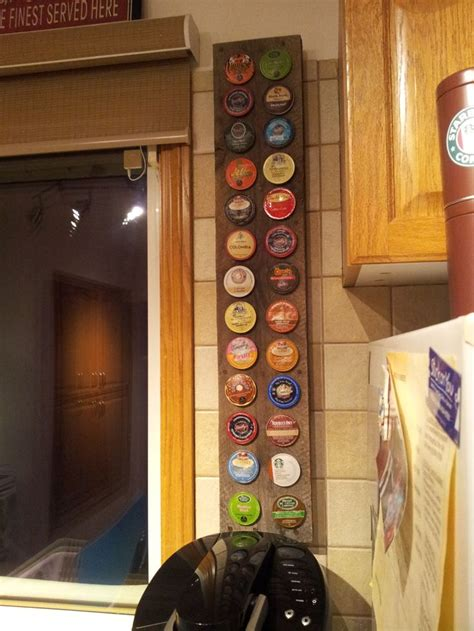 K Cup Wall Rack by Pin By Jayson Wall On K Cup Holder