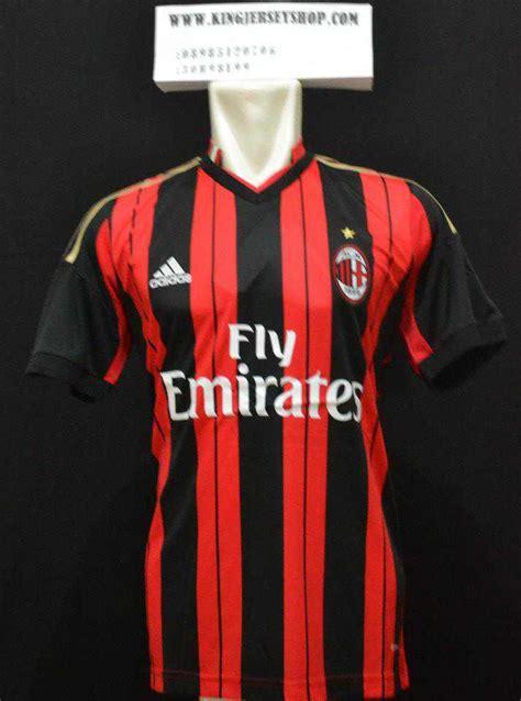 Promo Jersey Ac Milan Home 2014 2015 Grade Ori Promo image gallery milan jersey 2013 2014
