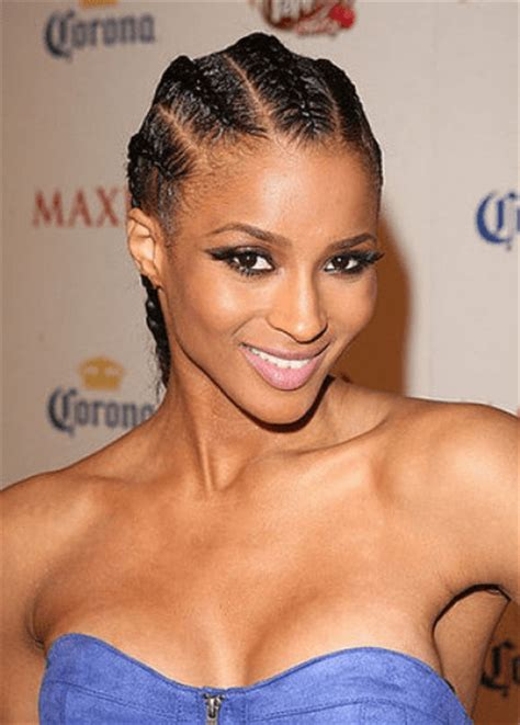 easy cornrow updos front and back easy braided hairstyles for women on the go