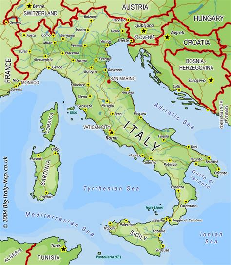 Big Italy Map   Large map of Italy map, Italy Atlas