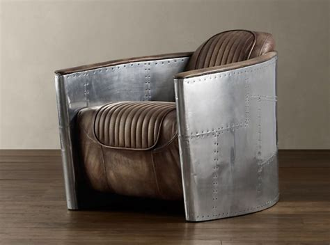 Restoration Hardware Aviator Chair Cool Material