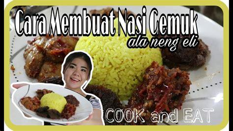 nasi gemuk   menu jengkol semurbaladorendang youtube