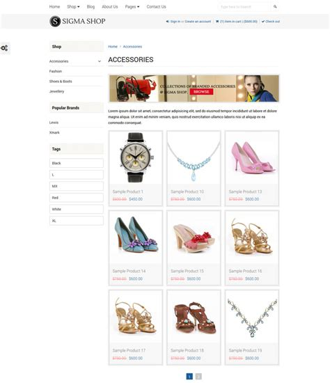 shopify nested themes shopify themes with subcategories sigma multipurpose