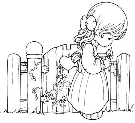 imagenes de la tristeza para colorear pinto dibujos precious moments triste para colorear