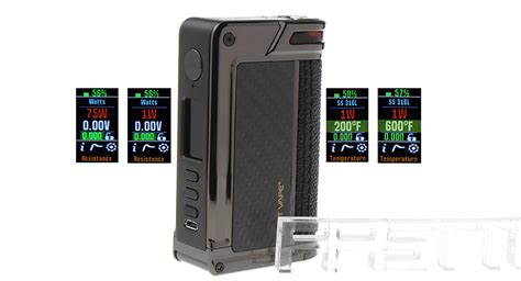 Paranormal Dna 166 Mod Only By Lostvape Authentic 139 00 authentic lost vape paranormal dna75c tc vw apv box mod 1 75w 200 600 f 2 18650