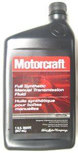 Motorcraft Full Synthetic Manual Transmission Fluid For