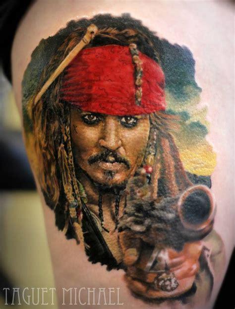 captain jack sparrow best tattoo ideas amp designs