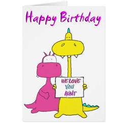 happy birthday aunt greeting card zazzle