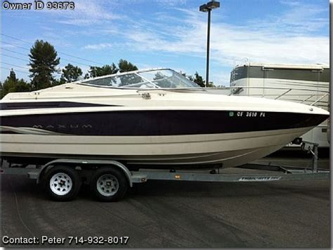 boat for sale in sc by owner 1999 maxum 2300 sc used boats for sale by owners boatsfsbo