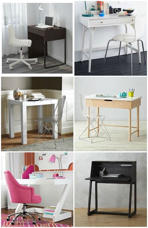 Small Kid Desk 9 Modern Desks For Small Spaces Modern Desks Modern And Small Spaces