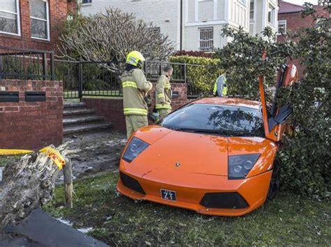 Lamborghini Crashed For Sale Lamborghini Gets Wrecked On A Test Drive