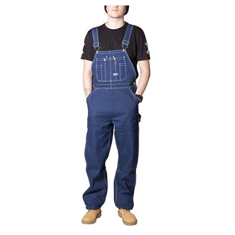 Overall Blue Sku29304 s big smith rigid denim bib overalls indigo blue