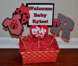 ladybug decorations for baby shower r r creations ladybug baby shower centerpiece