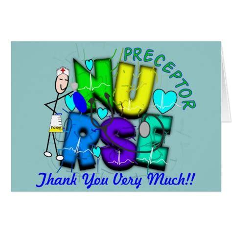 Thank You Card For Preceptor