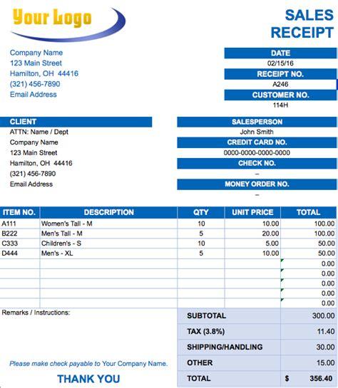 Free Excel Invoice Templates Smartsheet Sle Invoice Template