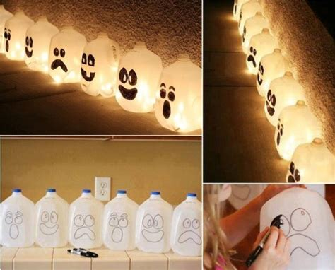 halloween decoration ideas to make at home 3 diy halloween ghost decorations home design garden