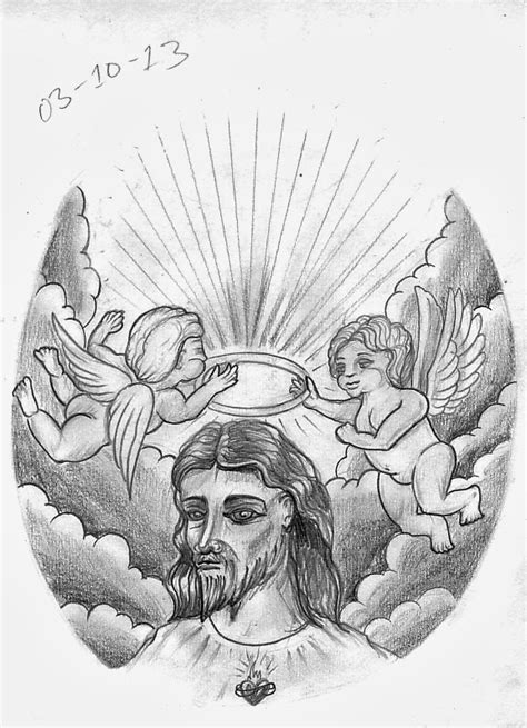 jesus tattoo template tattoo sketch a day october 2013