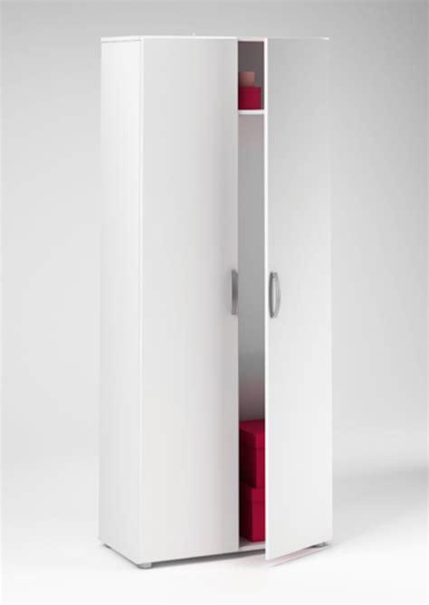 armoire a balais armoire 224 balai cobi blanc