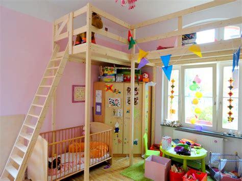 günstige wohnideen zum selber machen hochbett selber bauen mit schrank