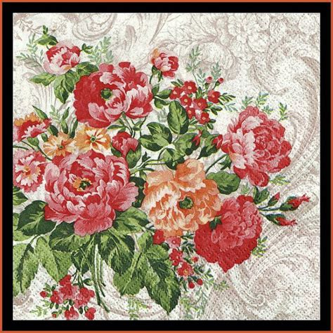 Napkin Decoupage Tissue Tissue Decoupage Media Decoupage 95 floral paper napkins tissue paper for decoupage or scrapbooking mixed media from